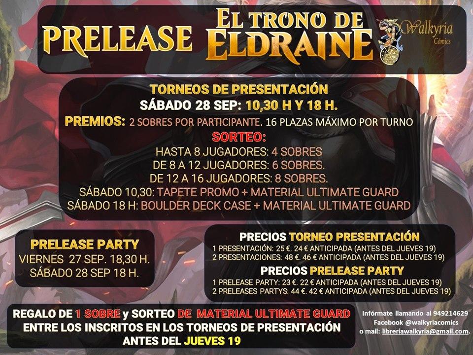 Presentación de la nueva colección de Magic:El Trono de Eldraine