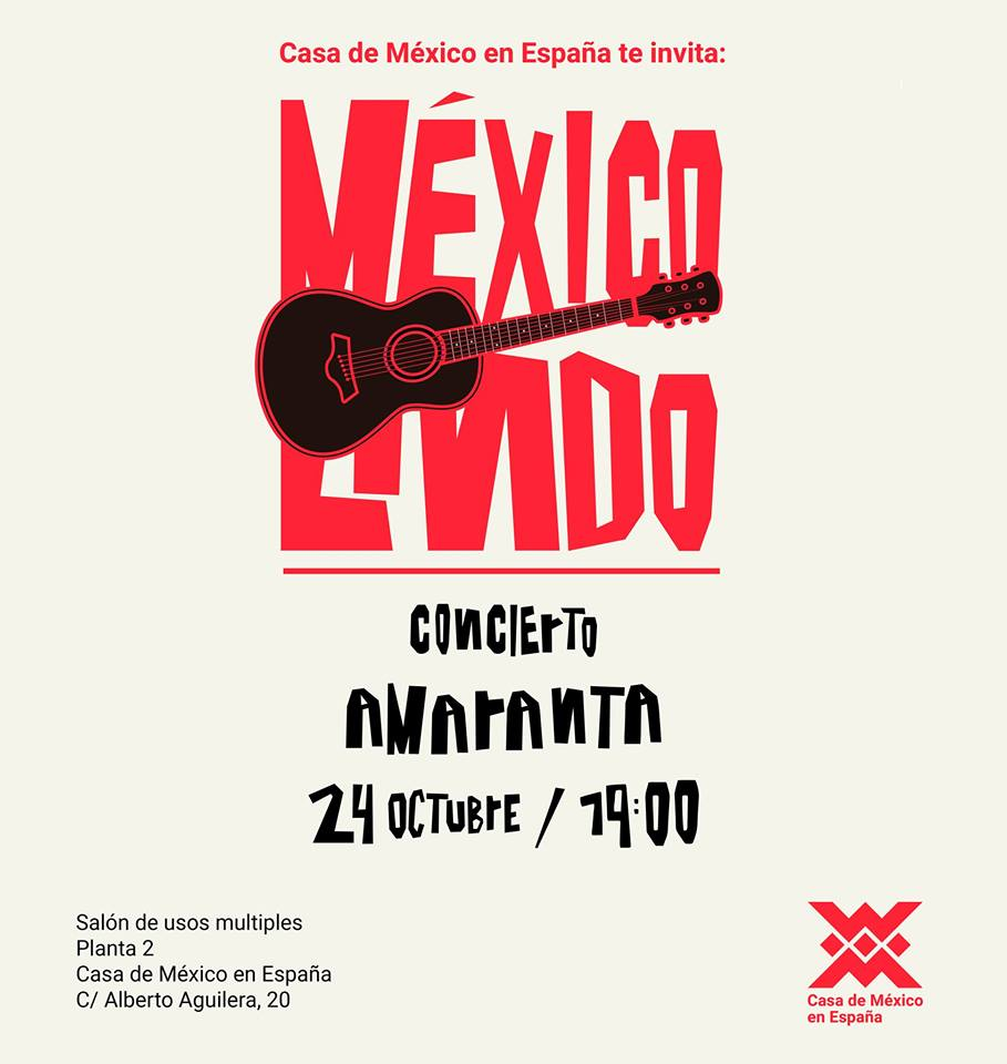 Amaranta en Casa de México en Madrid