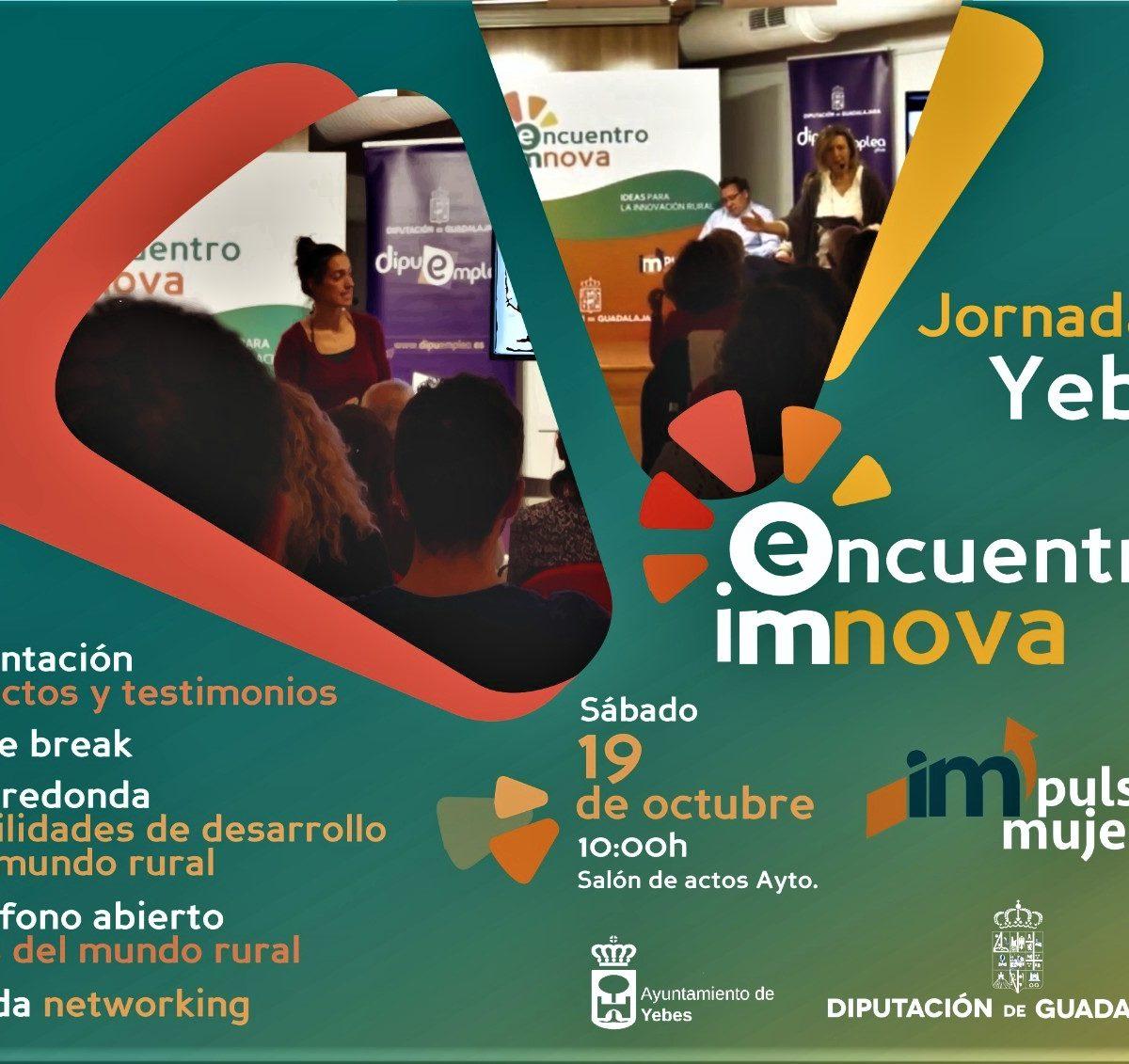 Cartel Encuentro IMNOVA en Yebes (19 oc 2019)