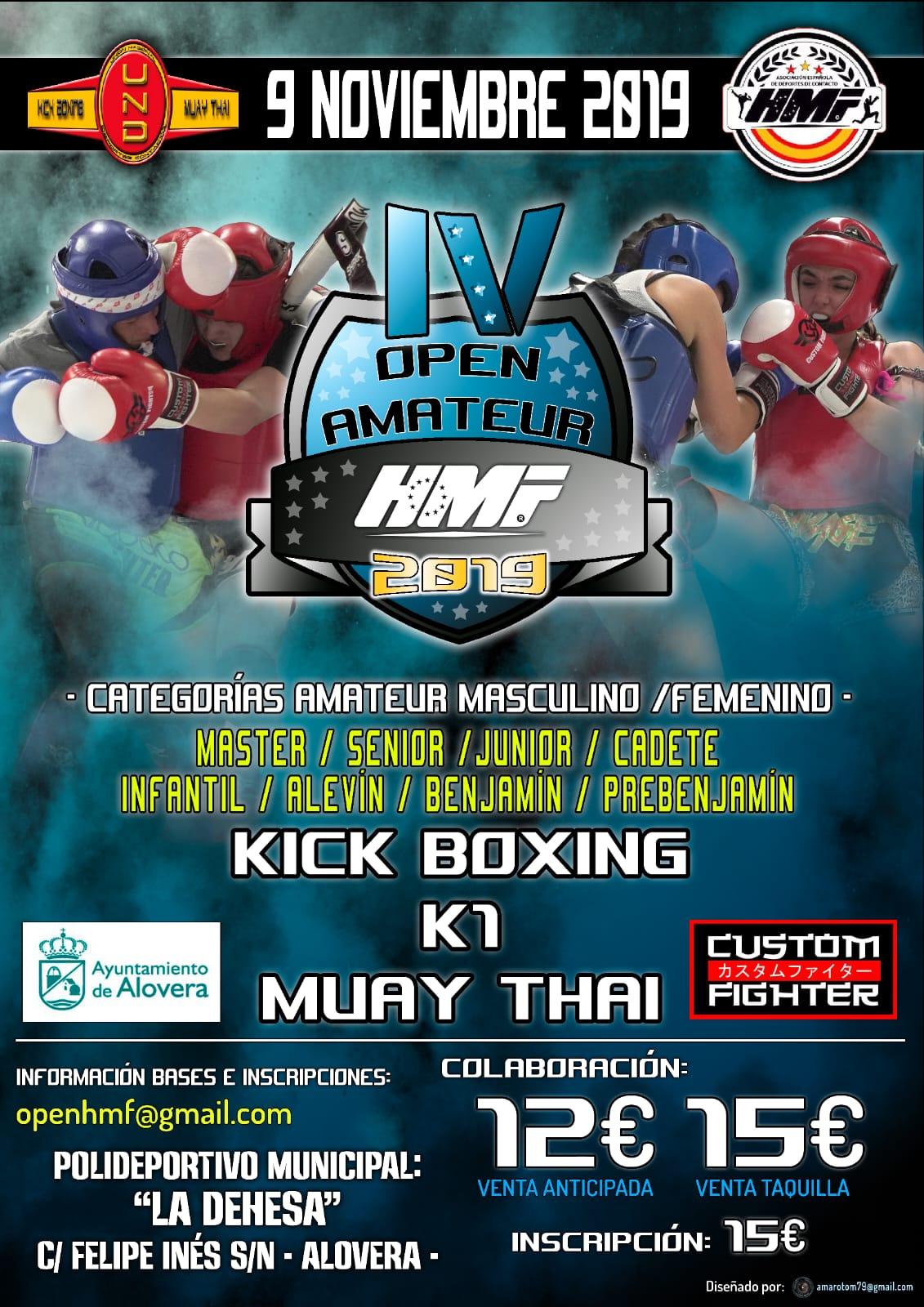 IV Open Amateur HMF