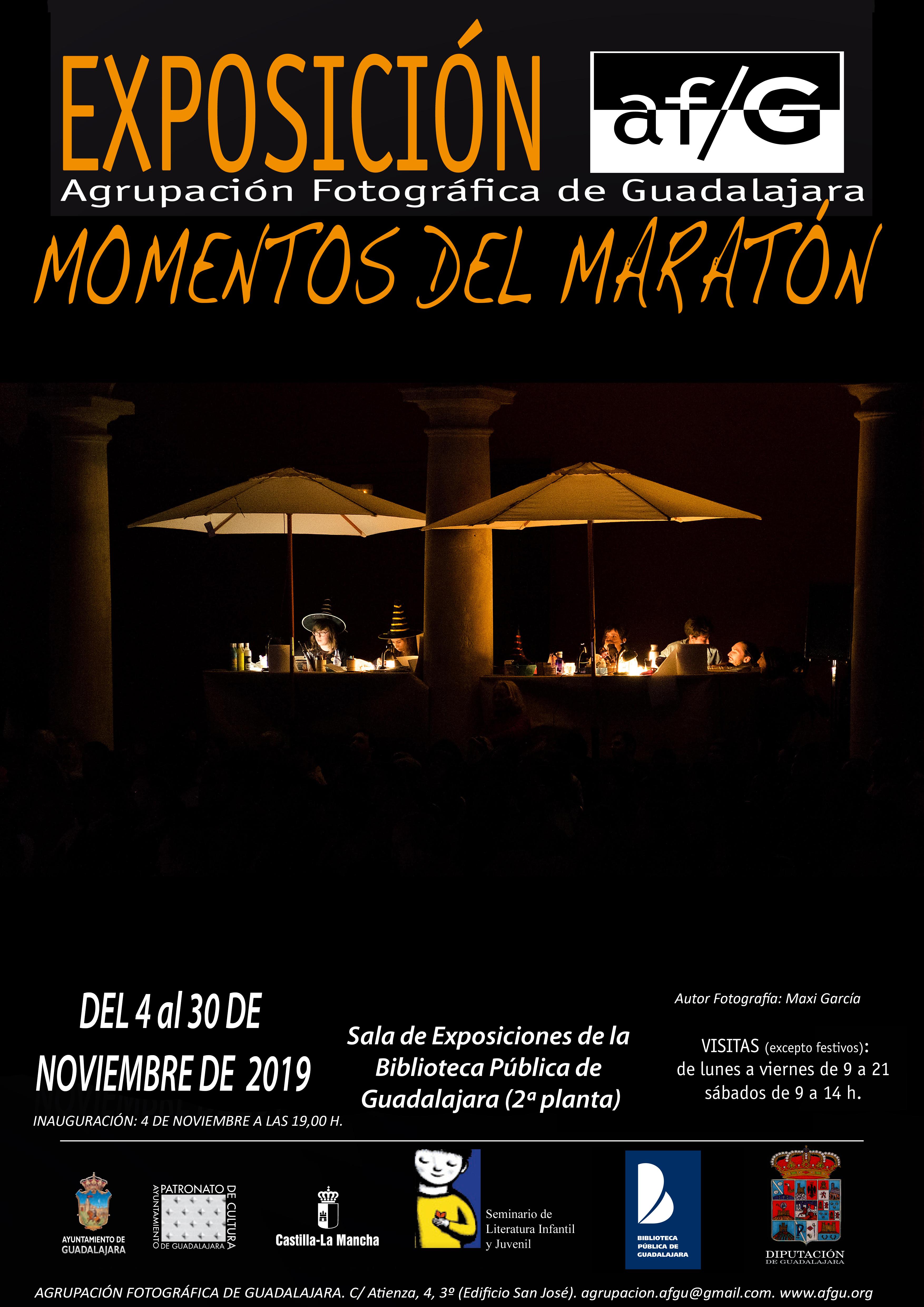 Exposición «Momentos del maratón»