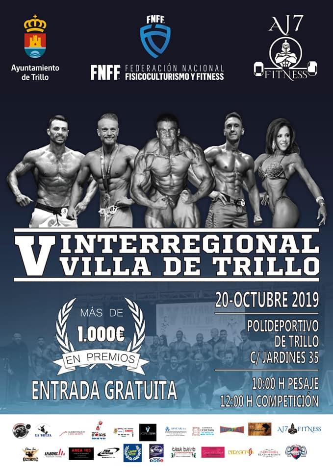V Interregional de Culturismo y Fitness 'Villa de Trillo'