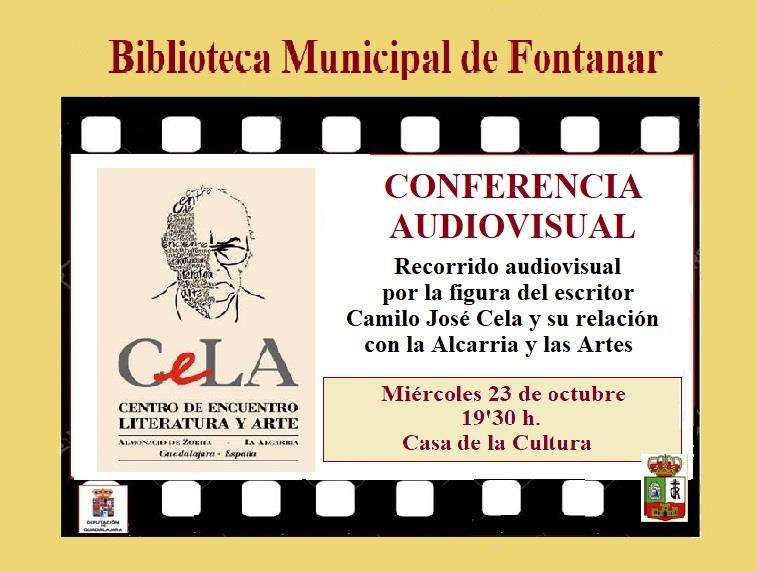 Conferencia-audivisual sobre Camilo José Cela