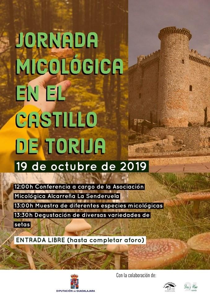 Jornada micológica en Torija