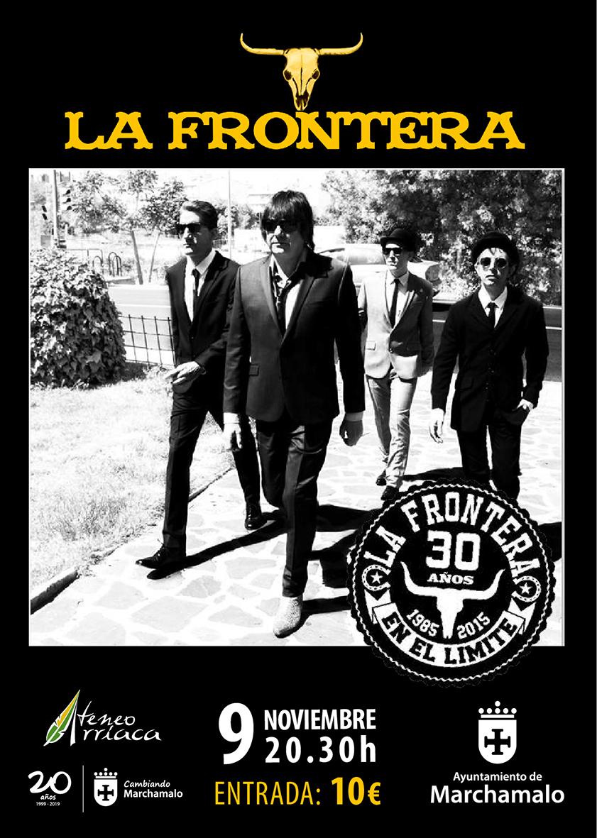 «La Frontera», concierto en Marchamalo