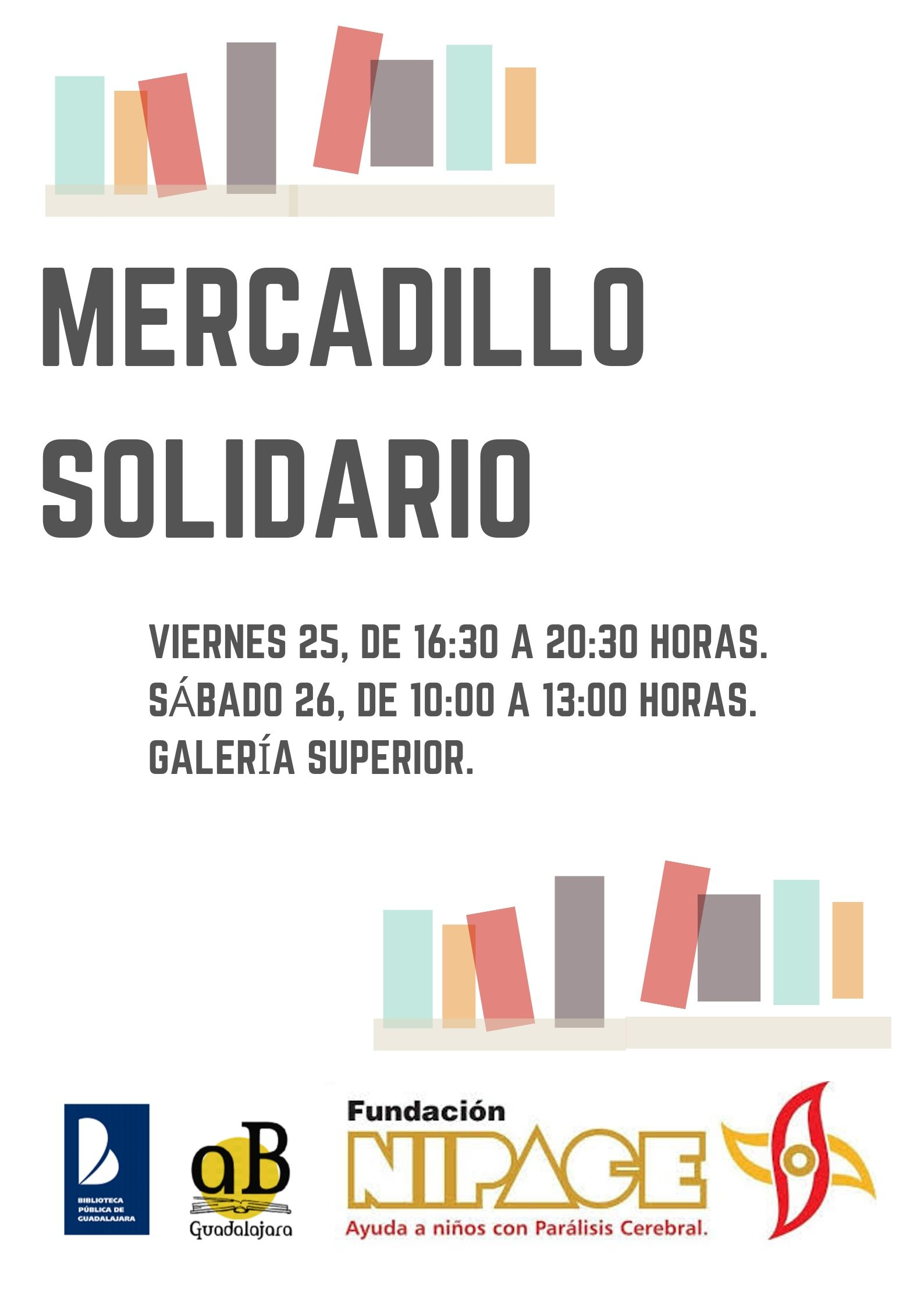 Mercadillo solidario a beneficio de Nipace