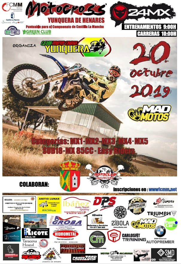 Motocross en Yunquera de Henares