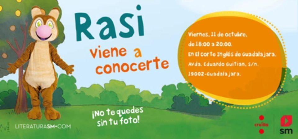 ¡La ardilla Rasi visita Guadalajara!