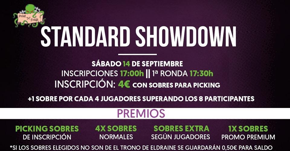 Standard Showdown El Trono de Eldraine