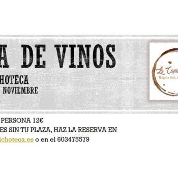 Cata de vinos en La Caprichoteca