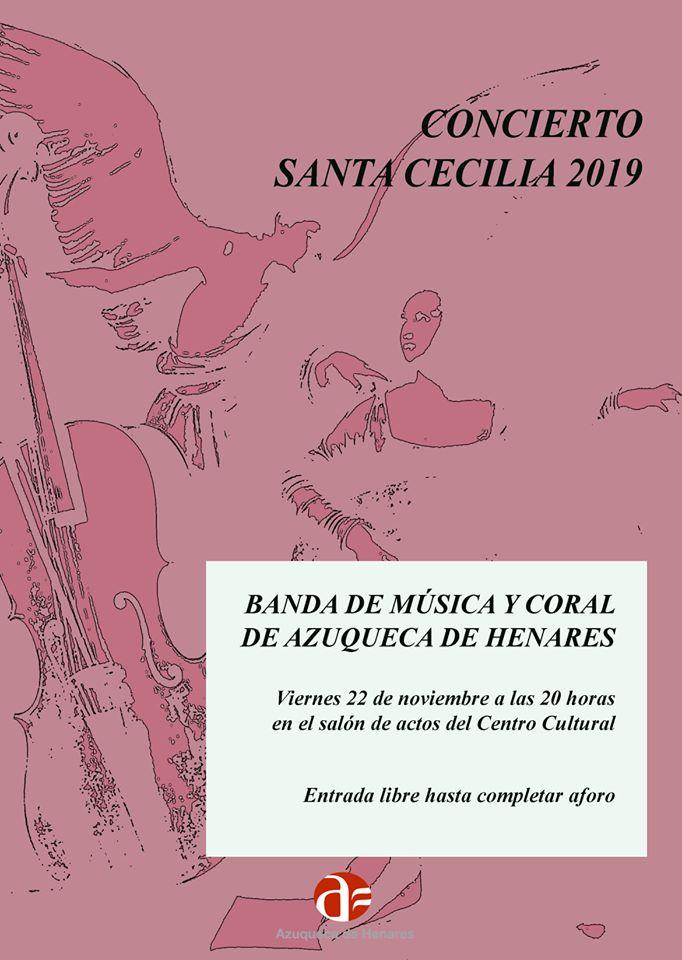 Concierto Santa Cecilia 2019 Azuqueca de Henares