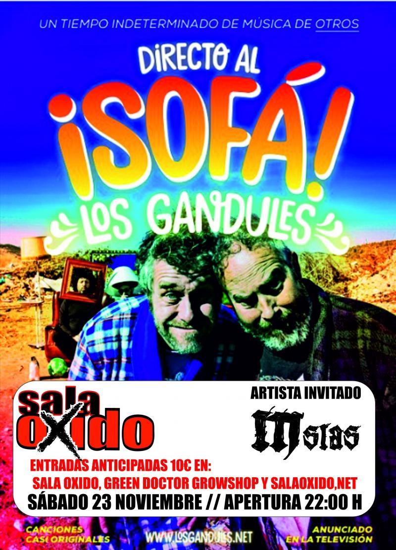 LOS GANDULES + MSIAS Sala Oxido