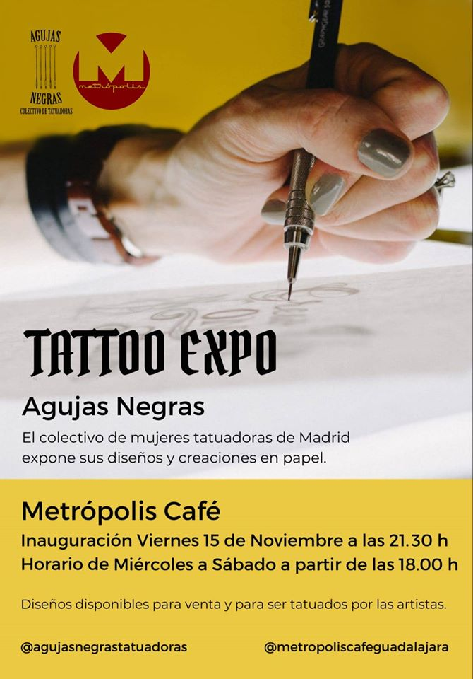 Tattoo Expo: Agujas Negras