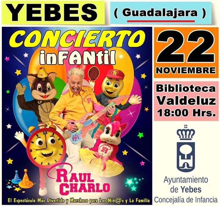 Día Universal del Niño en Yebes