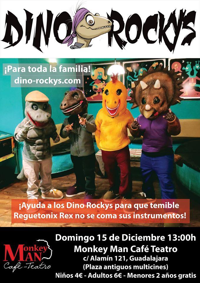 Dino Rockys en Monkey Man Guadalajara!