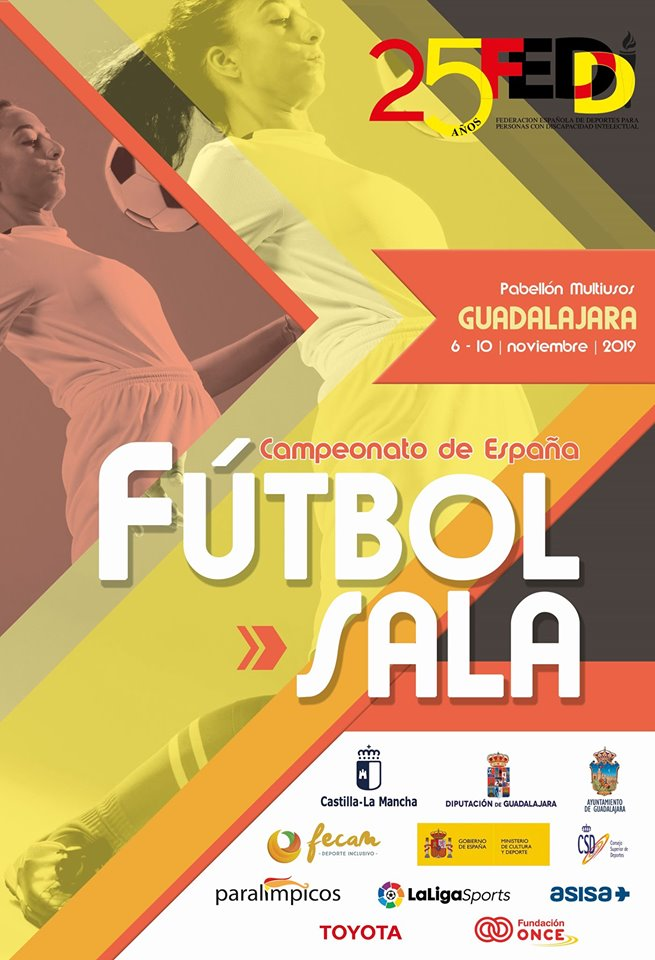 Campeonato España Fútbol-Sala FEDDI 2019