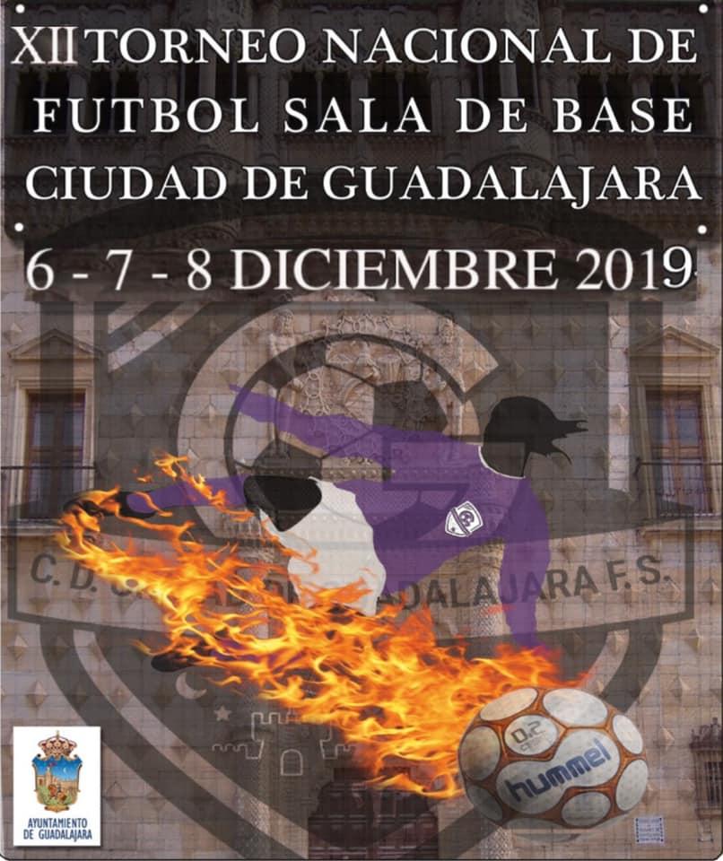 XII Torneo Nacional Futbol Sala Base Ciudad de Guadalajara 2019