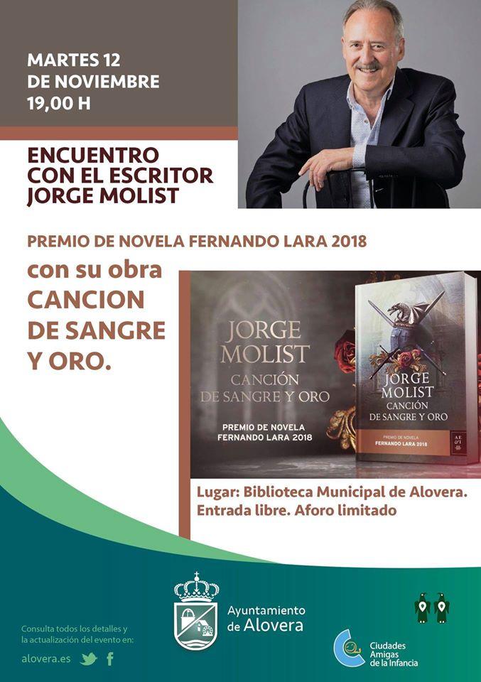 Encuentro con el escritor Jorge Molist