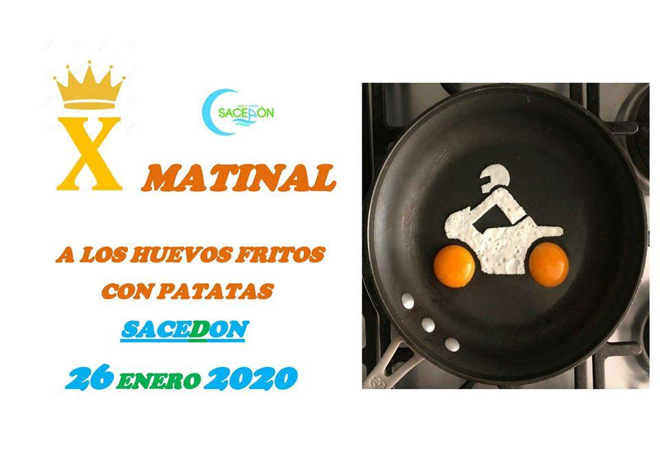 X matinal «A los huevos fritos con patatas»