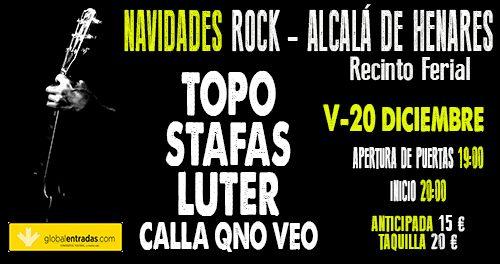 Navidades Rock Recinto Ferial Alcalá de Henares