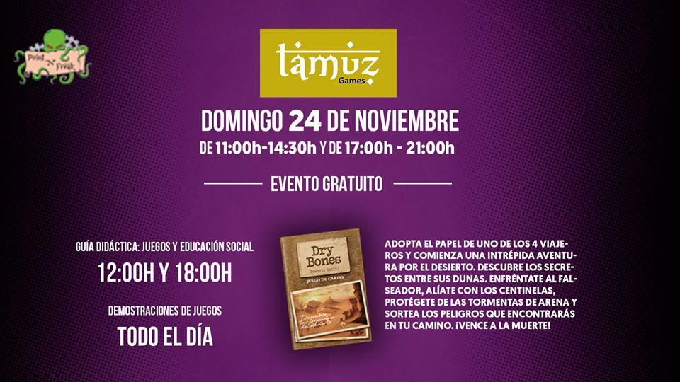 Tamuz Games en Guadalajara