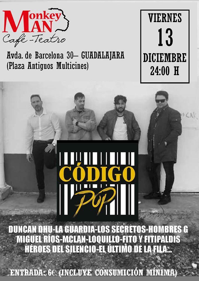 Concierto Codigo pop