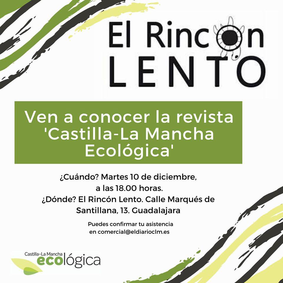 Presentación de la Revista «Castilla – La Mancha Ecológica»