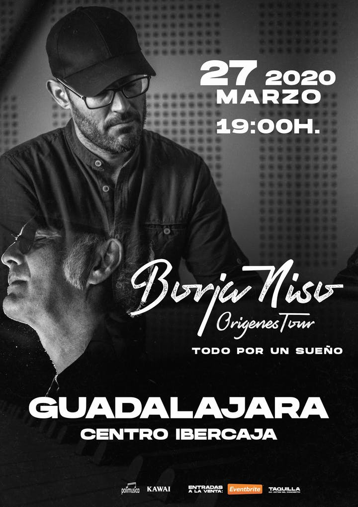 Tributo a Ludovico Einaudi con BORJA NISO en Guadalajara