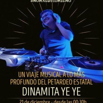 Dinamita Ye Ye en Mi Gran Noche #nomásdelomismo