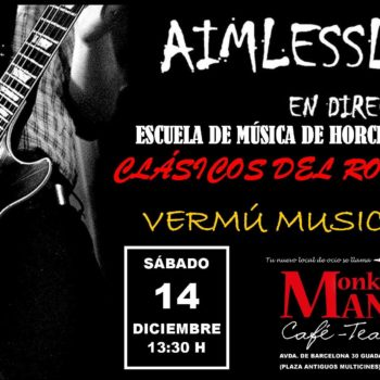 Vermú musical AIMLESSLY Escuela de música de Horche
