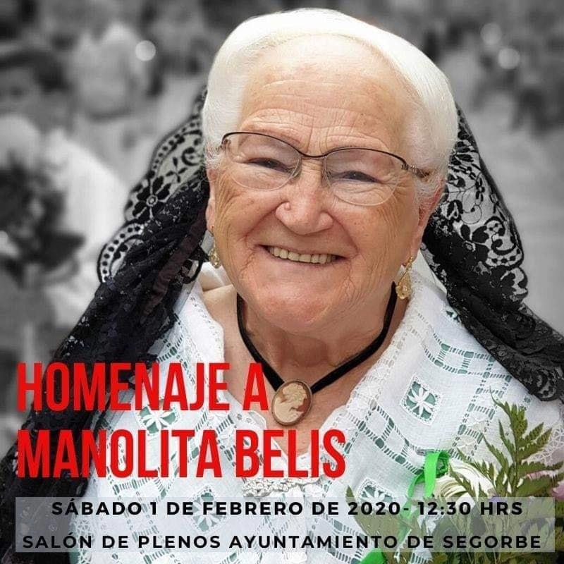 Homenaje a Manolita Belis