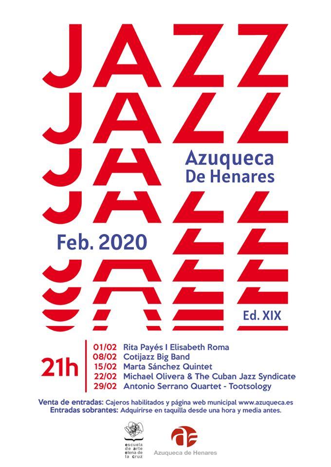 XIX EDICIÓN DEL MES DEL JAZZ AZUQUECA 2020