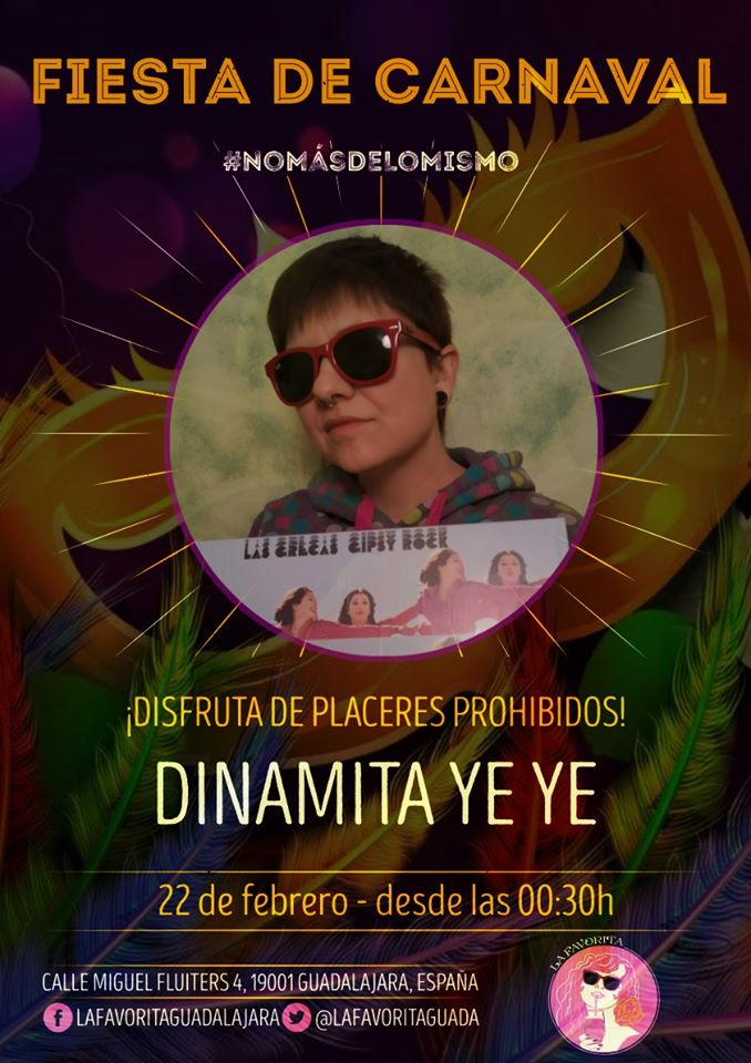 ¡Fiesta de Carnaval con Dinamita Ye Ye!