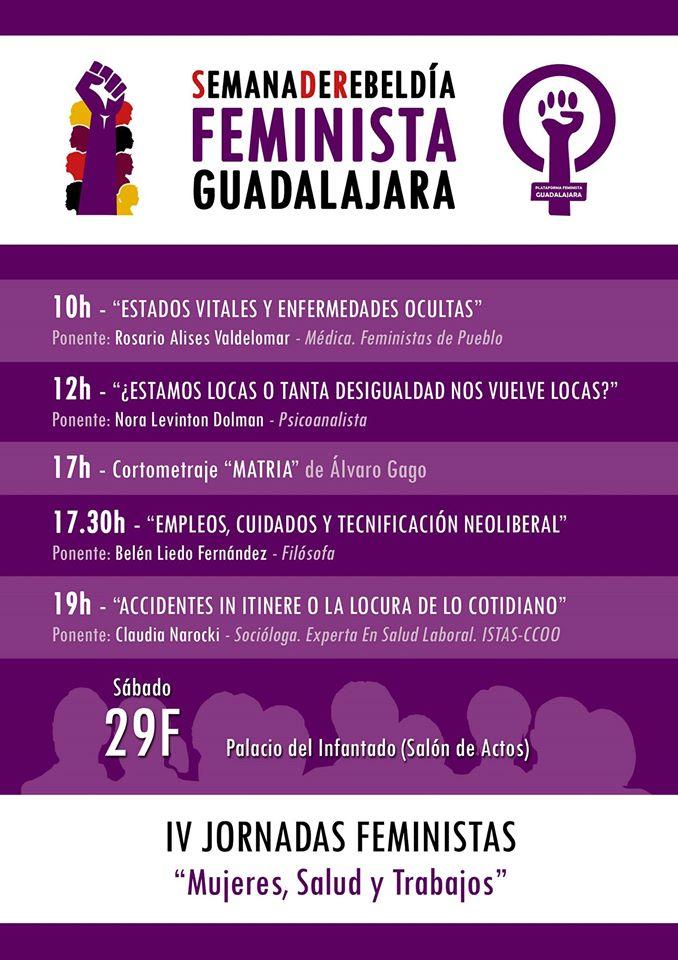 29F IV Jornadas Feministas