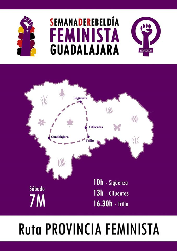 7M Ruta Provincia Feminista