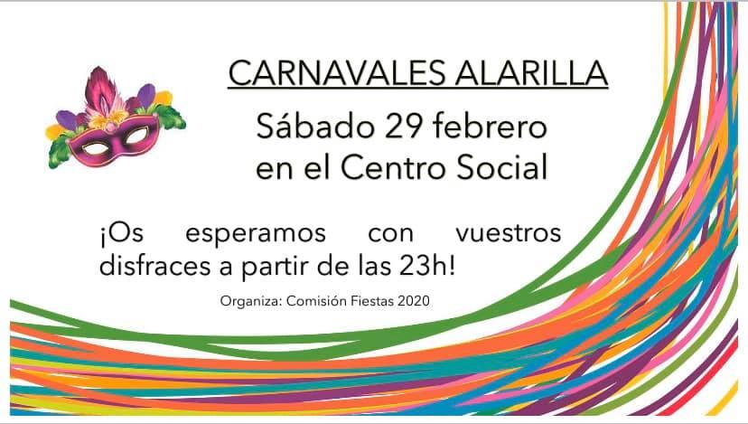 CARNAVALES ALARILLA 2020