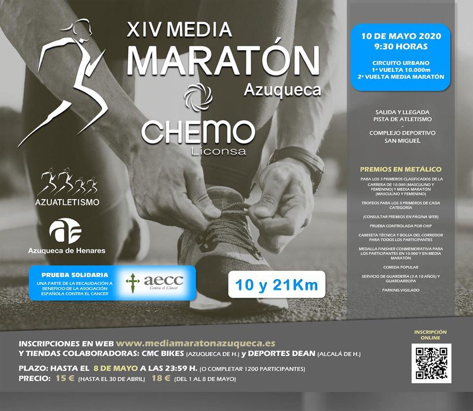 XIV Media Maratón Azuqueca Chemo-Liconsa
