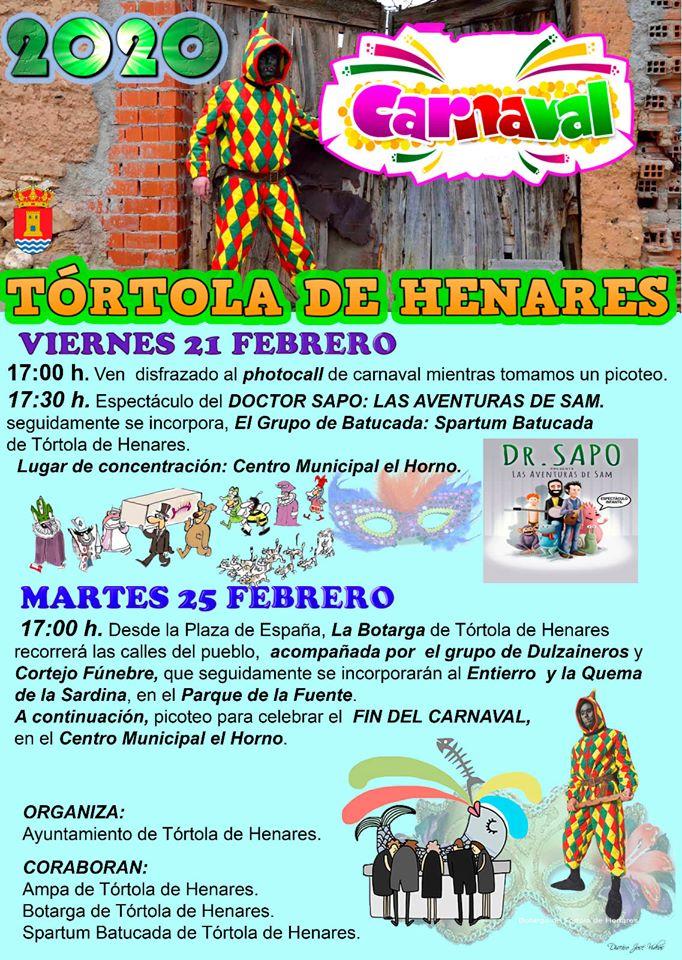 PROGRAMA CARNAVAL DE TÓRTOLA DE HENARES 2020
