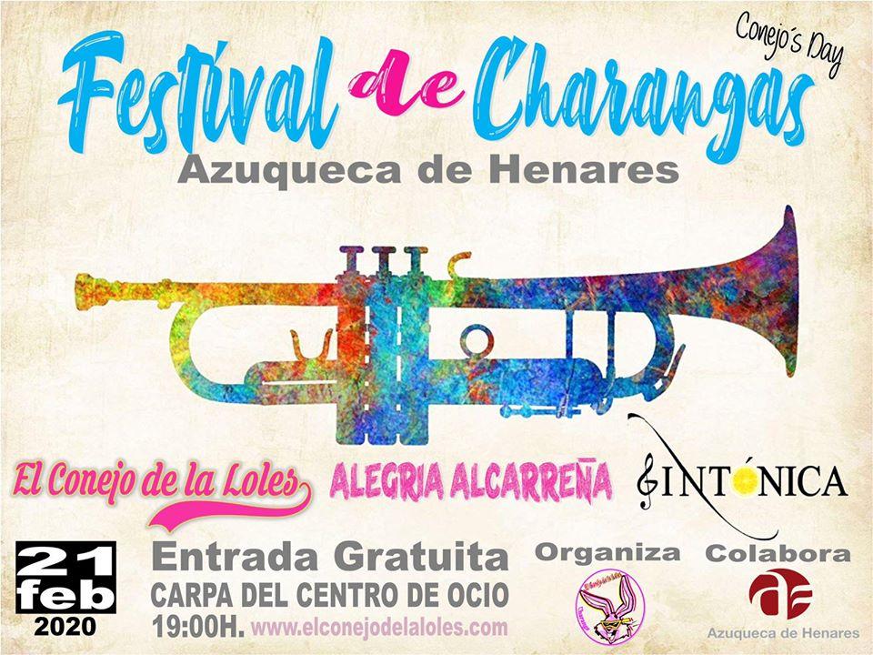 El viernes de Carnaval, Festival de Charangas en Azuqueca 2020
