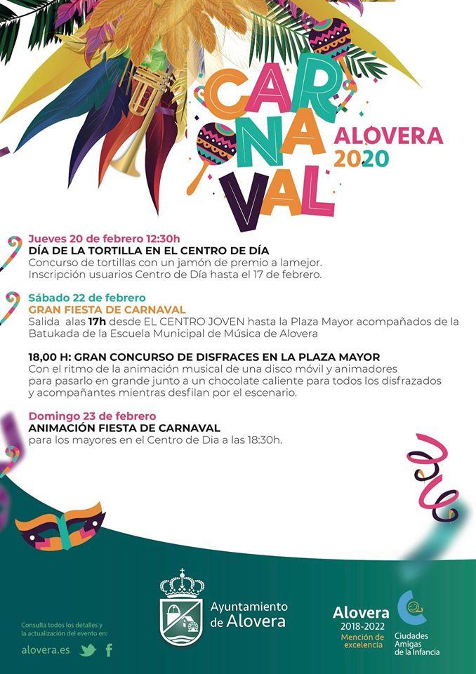 PROGRAMA DE CARNAVAL ALOVERA 2020