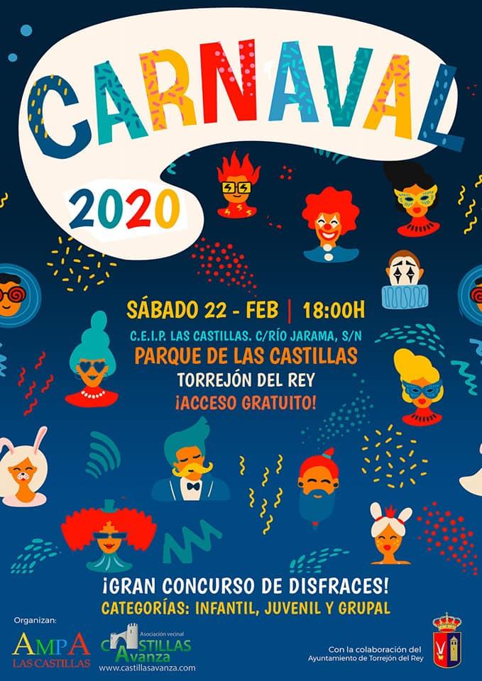 CARNAVAL 2020 GRAN CONCURSO DE DISFRACES TORREJÓN DEL REY