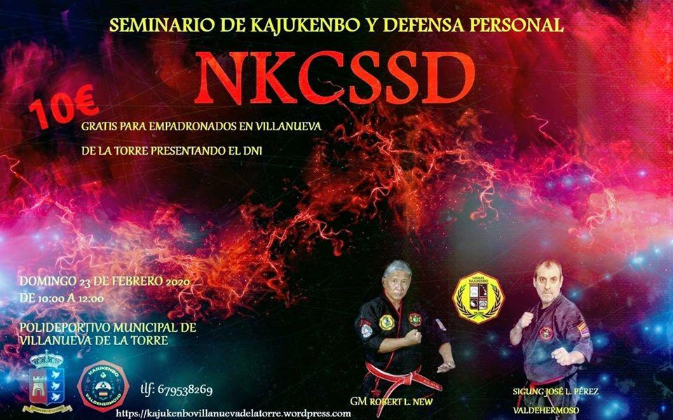 Seminario/Curso de kajukenbo y defensa personal NKCSSD