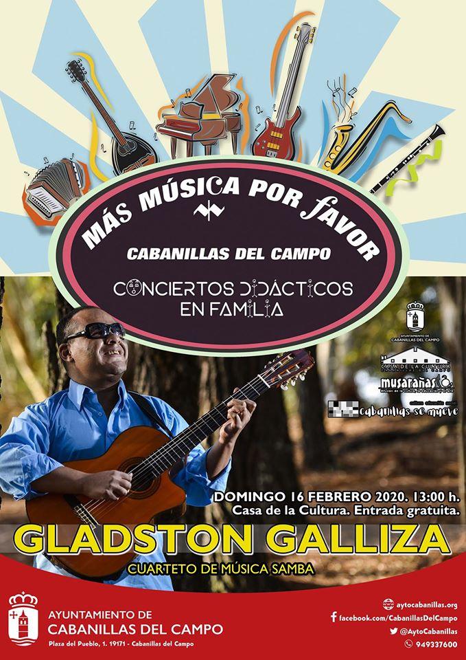 CONCIERTO «Más música por favor» Cabanillas del Campo