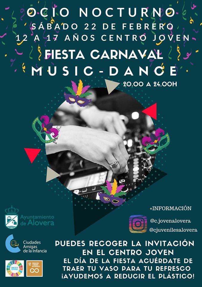 FIESTA DE CARNAVAL MUSIC-DANCE ALOVERA