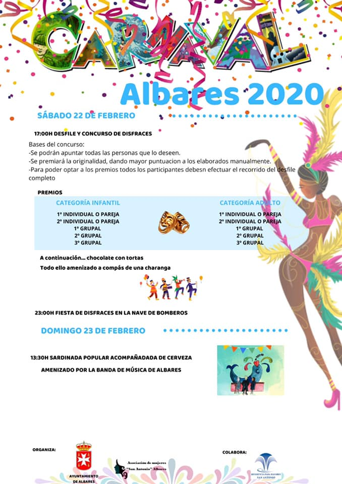 PROGRAMA DE CARNAVAL ALBARES 2020
