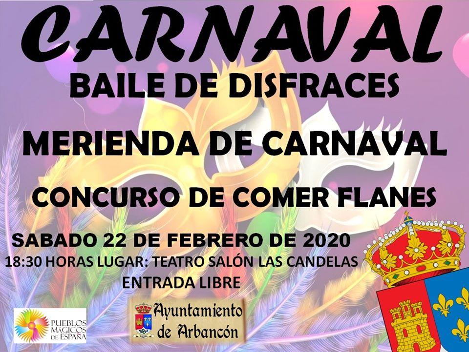 CARNAVAL DE ARBANCÓN 2020