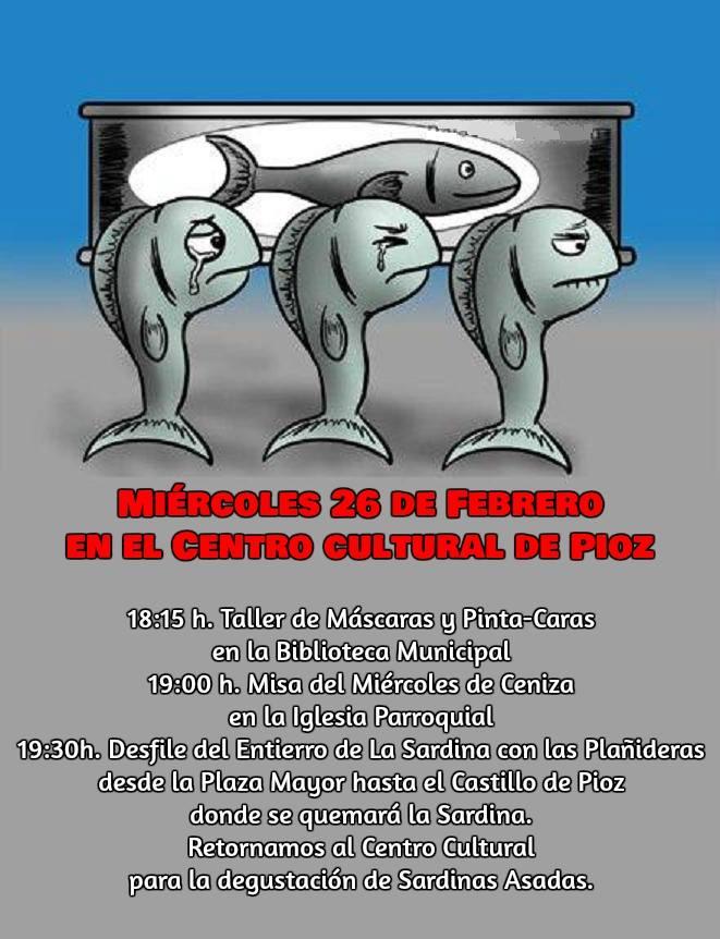 CARNAVAL MIERCOLES DE CENIZA PIOZ 2020