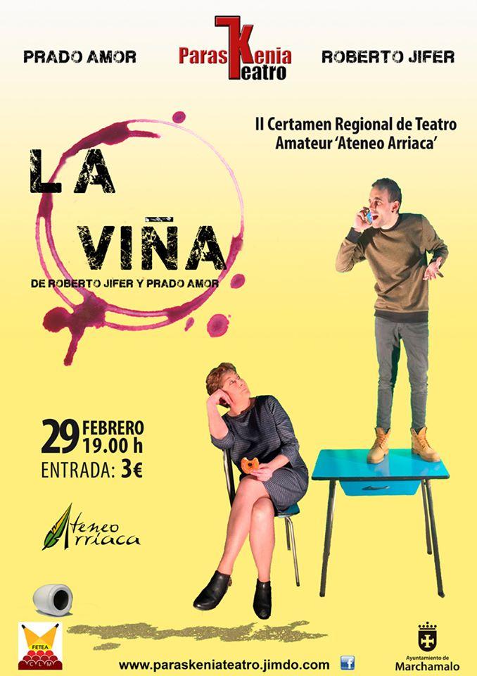 'LA VIÑA', de PARASKENIA TEATRO Ateneo Arriaca Marchamalo