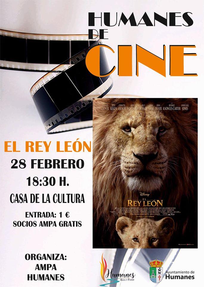 """HUMANES DE CINE  """"EL Rey León"""""""
