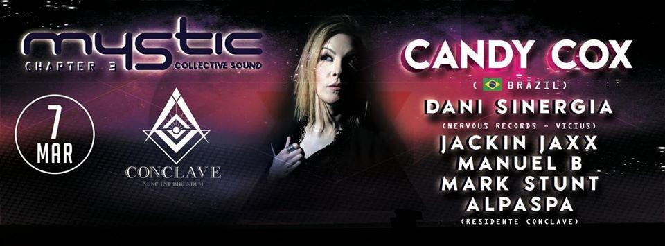 CANDY COX en Sala Conclave – Cabanillas del Campo – Guadalajara